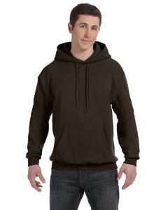 Dk Chocolate 7.8 oz. ComfortBlend® EcoSmart® 50/50 Pullover Hood