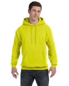 Safety Green 7.8 oz. ComfortBlend® EcoSmart® 50/50 Pullover Hood