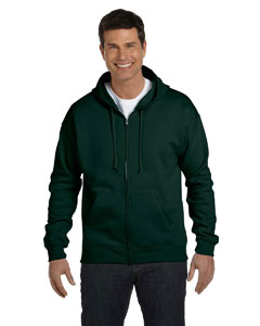 Deep Forest 7.8 oz. ComfortBlend® EcoSmart® 50/50 Full-Zip Hood