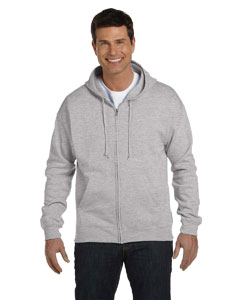 Light Steel 7.8 oz. ComfortBlend® EcoSmart® 50/50 Full-Zip Hood