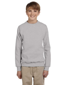 Light Steel Youth 7.8 oz. ComfortBlend® EcoSmart® 50/50 Fleece Crew