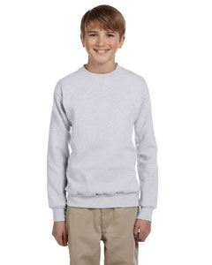 Ash Youth 7.8 oz. ComfortBlend® EcoSmart® 50/50 Fleece Crew