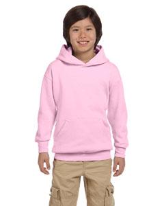 Pale Pink Youth 7.8 oz. ComfortBlend® EcoSmart® 50/50 Pullover Hood
