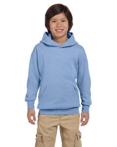 Light Blue Youth 7.8 oz. ComfortBlend® EcoSmart® 50/50 Pullover Hood