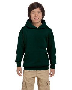 Deep Forest Youth 7.8 oz. ComfortBlend® EcoSmart® 50/50 Pullover Hood