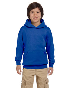 Deep Royal Youth 7.8 oz. ComfortBlend® EcoSmart® 50/50 Pullover Hood