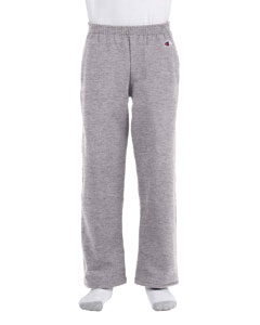 Light Steel Youth Eco® 9 oz., 50/50 Open-Bottom Pants