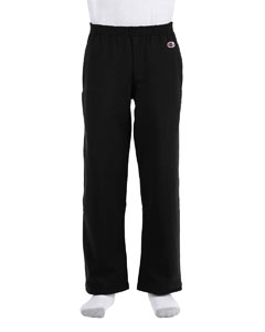 Black Youth Eco® 9 oz., 50/50 Open-Bottom Pants