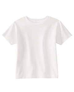 White Toddler 5.5 oz. Jersey Short-Sleeve T-Shirt