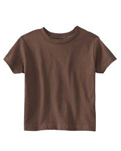 Brown Toddler 5.5 oz. Jersey Short-Sleeve T-Shirt