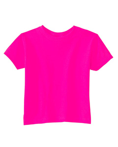 Hot Pink Toddler 5.5 oz. Jersey Short-Sleeve T-Shirt