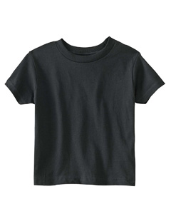 Black Toddler 5.5 oz. Jersey Short-Sleeve T-Shirt