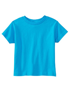 Turquoise Toddler 5.5 oz. Jersey Short-Sleeve T-Shirt