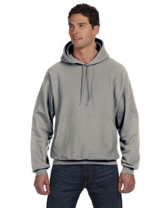 Oxford Gray 12 oz., 82/18 Reverse Weave Pullover Hood