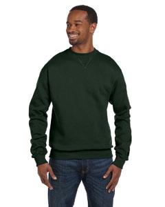 Dark Green 9.7 oz., 90/10 Cotton Max Crew