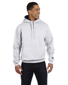 Silver Gray/navy 9.7 oz., 90/10 Cotton Max Pullover Hood