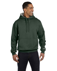 Darkgreen/oxford 9.7 oz., 90/10 Cotton Max Pullover Hood