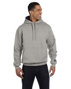Oxf Gry/navy 9.7 oz., 90/10 Cotton Max Pullover Hood