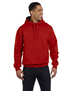 Scarlet/black 9.7 oz., 90/10 Cotton Max Pullover Hood