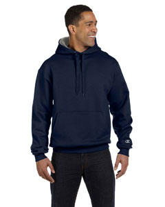 Navy/oxford Gray 9.7 oz., 90/10 Cotton Max Pullover Hood