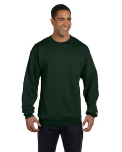 Dark Green Eco® 9 oz., 50/50 Crew