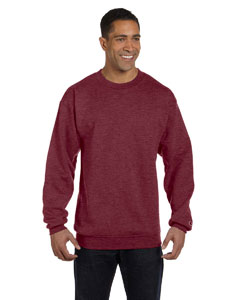 Maroon Heather Eco® 9 oz., 50/50 Crew