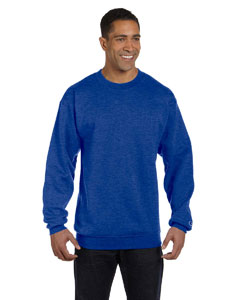 Royal Blue Hthr Eco® 9 oz., 50/50 Crew
