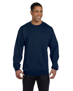 Navy Heather Eco® 9 oz., 50/50 Crew
