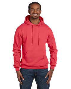 Scarlet Heather Eco® 9 oz., 50/50 Pullover Hood