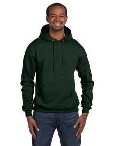 Dark Green Eco® 9 oz., 50/50 Pullover Hood