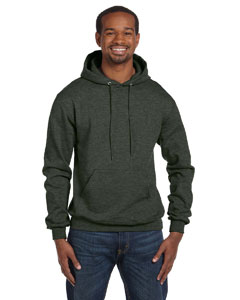 Ath Green Heathr Eco® 9 oz., 50/50 Pullover Hood