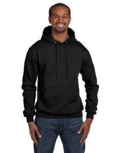 Black Eco® 9 oz., 50/50 Pullover Hood