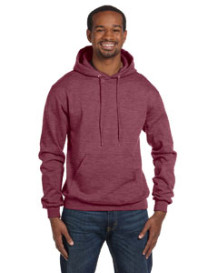 Maroon Heather Eco® 9 oz., 50/50 Pullover Hood