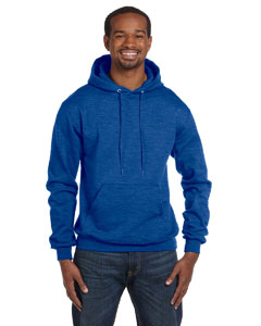 Royal Blue Hthr Eco® 9 oz., 50/50 Pullover Hood