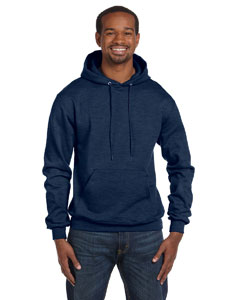 Navy Heather Eco® 9 oz., 50/50 Pullover Hood