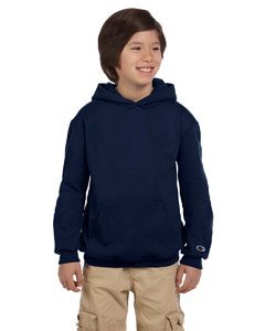 Navy Youth Eco® 9 oz., 50/50 Pullover Hood