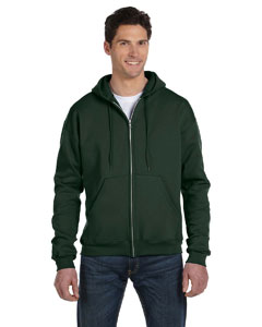 Dark Green Eco® 9 oz., 50/50 Full-Zip Hood