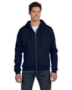 Navy Eco® 9 oz., 50/50 Full-Zip Hood