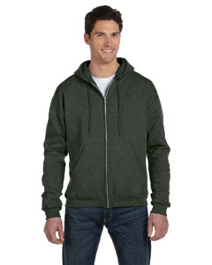 Ath Green Heathr Eco® 9 oz., 50/50 Full-Zip Hood