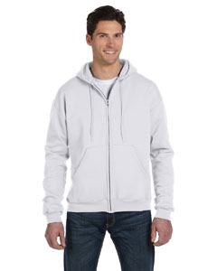 Silver Grey Eco® 9 oz., 50/50 Full-Zip Hood