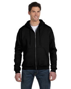 Black Eco® 9 oz., 50/50 Full-Zip Hood