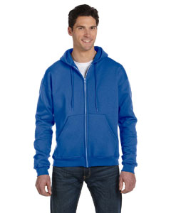 Royal Blue Hthr Eco® 9 oz., 50/50 Full-Zip Hood
