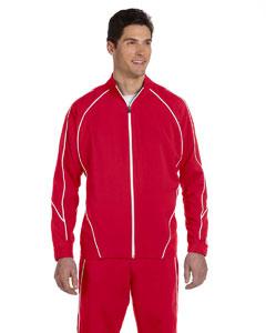 True Red/white Team Prestige Full-Zip Jacket