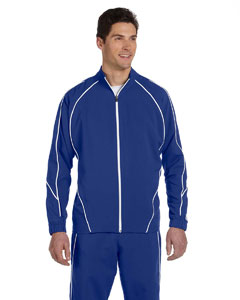 Royal/white Team Prestige Full-Zip Jacket