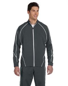 Stealth/white Team Prestige Full-Zip Jacket