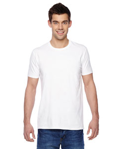 White 4.7 oz., 100% Sofspun™ Cotton Jersey Crew T-Shirt