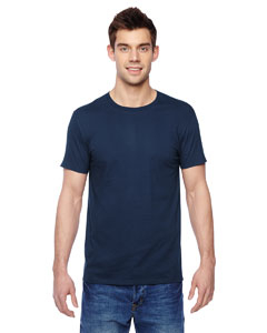 J Navy 4.7 oz., 100% Sofspun™ Cotton Jersey Crew T-Shirt