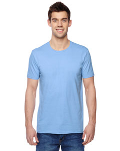 Light Blue 4.7 oz., 100% Sofspun™ Cotton Jersey Crew T-Shirt