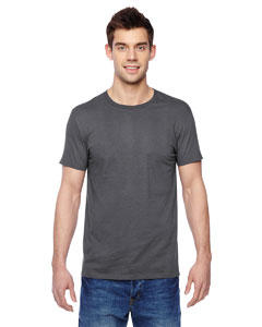 Charcoal Grey 4.7 oz., 100% Sofspun™ Cotton Jersey Crew T-Shirt