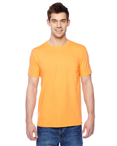 Gold 4.7 oz., 100% Sofspun™ Cotton Jersey Crew T-Shirt